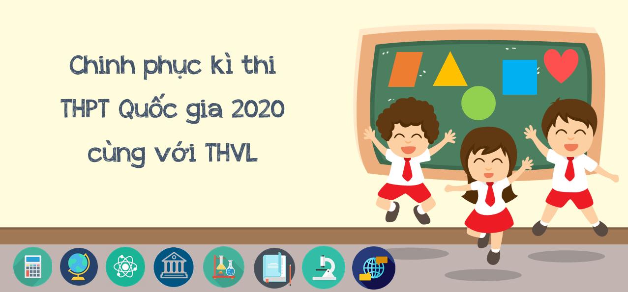 Thi thử THPT Quốc gia 2020 online  - Đề tham khảo (Bộ GD&ĐT)